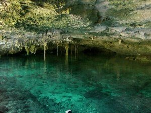 Great Diving in Cancun Caves
