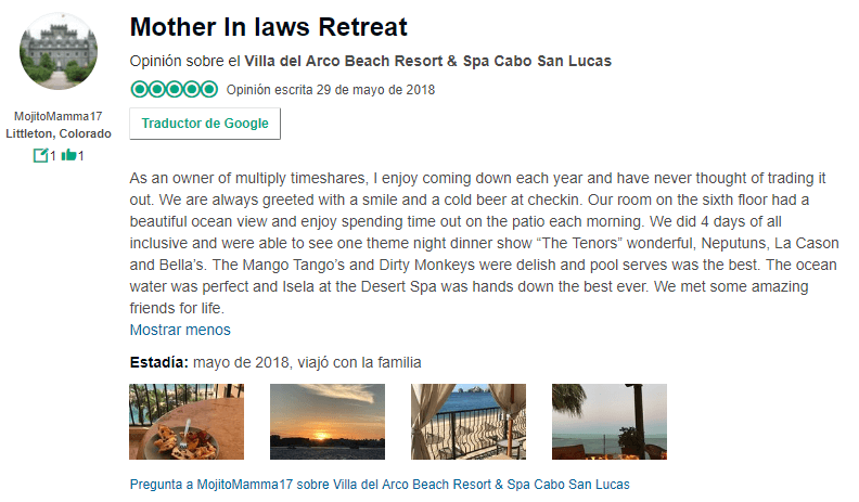 Villa del Arco Timeshare Review